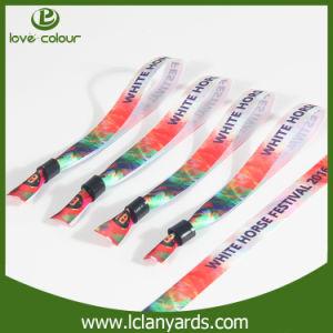 Wholesale Friendship Cloth Sublimation Logo Wristband Bracelets