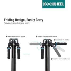 Koowheel Foldable 8inch Electric Scooter Lightest E-Scooter with Lithium Battery pictures & photos