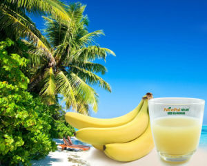 Food Grade Water Soluble Banana Juice Powder with 60-80 Mesh pictures & photos