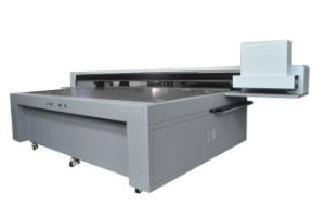 Best Price 2.5*1.3m Large Format Flatbed 3D LED UV Printer pictures & photos