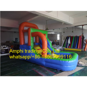 New Inflatable Beach Water Slide with Pool pictures & photos
