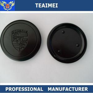 80mm Metal Black Car Logo Wheel Hub Cap for Porsche