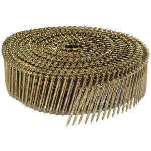 Screw Shank Coil Nail for Construction and Packing pictures & photos