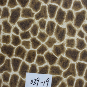 PVC Imitation Leather for Cafe Chair with High Quality (HS039#) pictures & photos