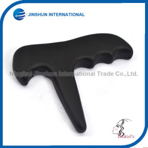 Meridian Massage Tool Massage Cone Black Bian Stone T (JSI-0016) pictures & photos