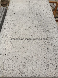 Big Hole Lava Stone and Grey Basalt for Paving and Flooring pictures & photos