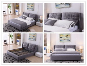 The Home Furniture Bed Room Fabric Bed (698) pictures & photos