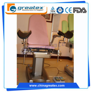 Electric Hydraulic Delivery Gynecological Chair / Surgical Instruments Used in Operation / Female Examination Table pictures & photos