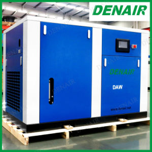 Silent Oil Free Oilless Stationary Rotary Screw Air Compressor (100% no oil) pictures & photos