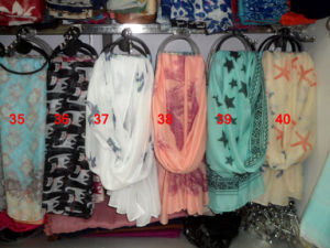 Polyester Scarf Soft Silk Chiffon Scarf Warm Scarf Shaw (C1008) pictures & photos