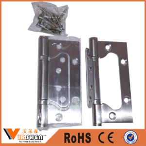 Stainless Steel Sub Mother Hinge / Flush Hinge / Door Butt Hinge pictures & photos