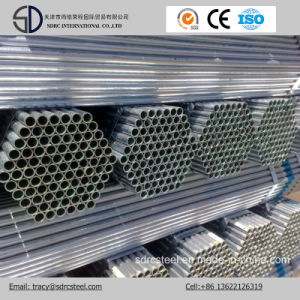 Q235 ERW Galvanized Steel Pipe, Scaffolding Pipe, Gi Pipe in Stock pictures & photos