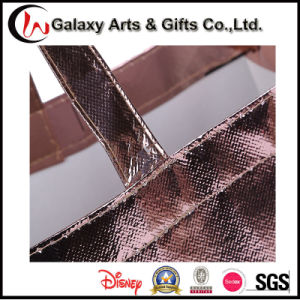 Promotional Laminated Plastic Coated No Woven Shopping Bag for Garment pictures & photos