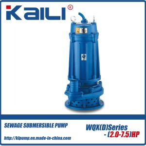 Wqx Wqxd Sewage Submersible Pump pictures & photos