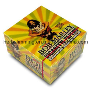 Bob Marley 110*54mm Smoking Rolling Papers 33 Leaves/Booklets 50 Booklets Paper Natural Gum Cigarette Papers pictures & photos