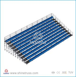 Mobile Aluminum Stadium Bleacher Chairs for Audience pictures & photos
