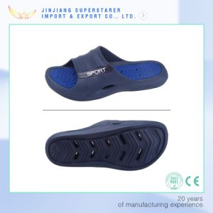 EVA Holey Outsole Non-Slip Wave Slipper pictures & photos