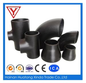 Carbon Steel Butt Weld Seamless Pipe Fitting Tee pictures & photos