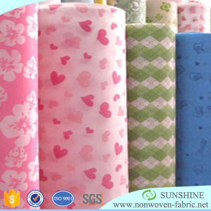 One-off Non-Woven Table Cloth Printed TNT Fabric pictures & photos