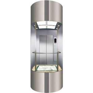 ISO9001 Passenger Sightseeing Home Elevator Villa Lift Without Machine Room pictures & photos