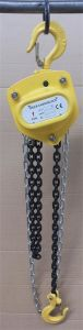 1 Ton Manual Lifting Chain Pulley Block Hoist pictures & photos