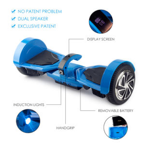 6.5inch 2 Wheel Smart Self Balance Electric Scooter with Replaceable Samsung Battery pictures & photos