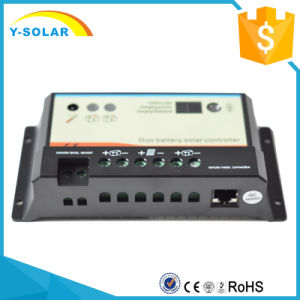 12V/24V 10A Solar Controllerr/Regulator with Light and Timer Control dB-10A pictures & photos
