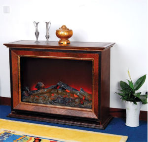 CE Approved European Electric Fireplace (515) pictures & photos