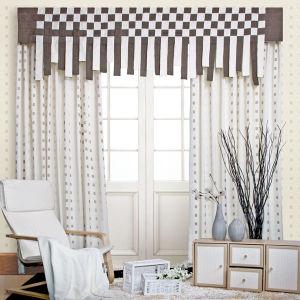 Elaborate Jacquard Curtain (BY08004)
