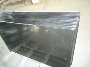 China Mongolia Black Granite Table Top pictures & photos