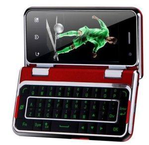 T6000 3.6+3.2 Dual Touch Screen WiFi TV Qwerty Dual SIM Mobile Phone