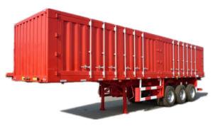 Heavy Duty 3 Axle Van-Type Truck Semi-Trailer pictures & photos