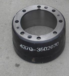 Heavy Duty Brake Drum 4370-3502070 pictures & photos