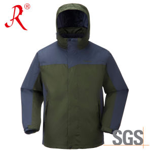 Breathable Outdoor Tech Ski Jacket (QF-6122) pictures & photos