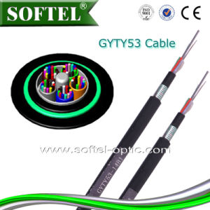 Direct Burial G652D Fiber Core/ Gyty53 Fiber Cable (GYTY53) pictures & photos