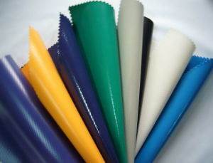 PVC Coated Tarps Fabric in Rolls or Ready Made Sheets