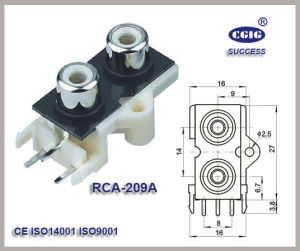 Rca /2pin Jack (RCA-109)