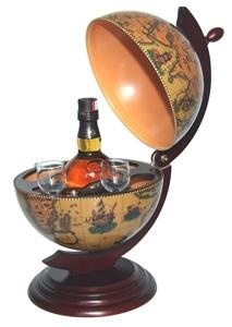 Wine Chest Terrestrial Globe-1