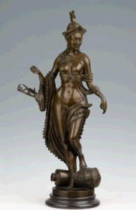 Bronze Sculpture Figure Statue (HYF-1072)