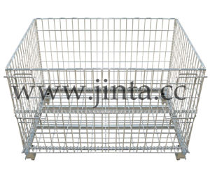 Foldable Wire Mesh Container (JT-G04) pictures & photos