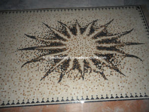 Pattern Mosaic Marble Stone Mosaic Floor Tile (ST110) pictures & photos