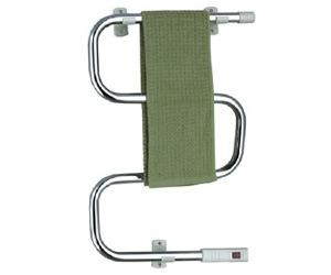 Kma6103c Chromed Steel S-Shape Electric Wiring Chrome Towel Rail, Towel Warmer