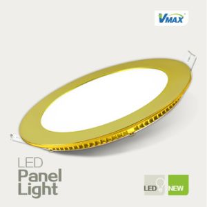 3W Round LED Indoor Panel Light with High Performance and Long Life (M-15191) pictures & photos