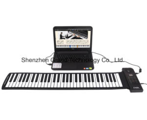 61 Keys Foldable Hand Roll Piano (GRP-61) pictures & photos