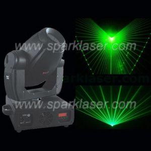 Single Green Moving Head Laser Light