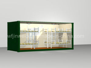 ISO Prefabricated Container House Dormitory pictures & photos