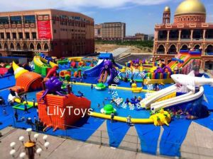 Inflatable Water Park / Inflatable Swimming Pool and Slide (JOLIN2021) pictures & photos