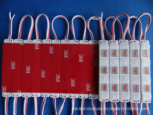 12V IP65 3 Chips 5730 Injection LED Module with Different Color Case pictures & photos