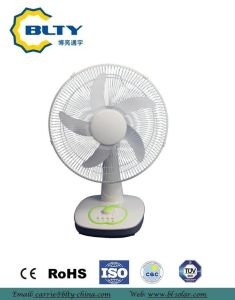 2017 New Floor&Desk Solar Fan and Rechargeable DC Fan pictures & photos