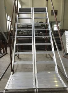 Alunimum Stair for Ringlock Scaffolding pictures & photos